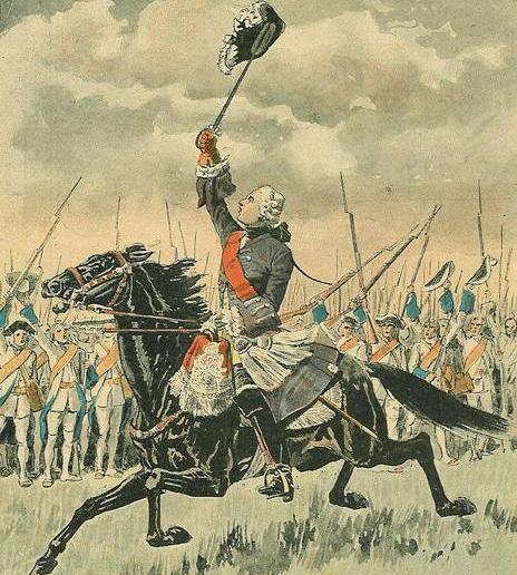 naissance-francois-gaston-duc-de-levis/general-levis-encouraging-his-french-army-at-the-battle-of-sainte-foy.jpg