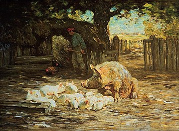 naissance-horatio-walker-peintre/360px-horatio-walker---little-white-pigs-and-mother---1911-jpg.jpeg