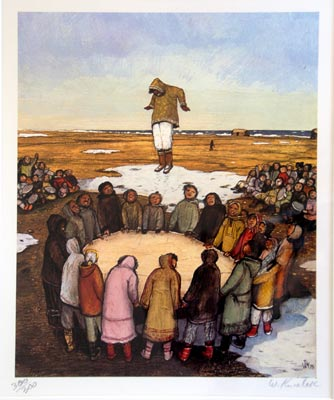 naissance-william-kurelek/kurelek-artic-game.jpg