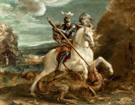 deces-hans-von-aachen/st-george-slaying.jpg