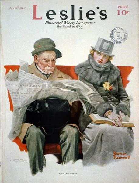 naissance-norman-rockwell/fact---fiction-by-norman-rockwell-1917.jpg