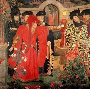 en-angleterre-bataille-de-tewkesbury-dans-la-guerre-des-deux-roses/choosing-the-red-and-white-roses.jpg