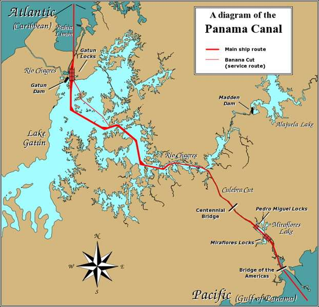 debut-de-la-construction-du-canal-de-panama-par-les-etats-unis/panama-canal-rough-diagram-gr26.jpg